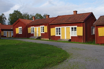 village paroissial en Suède