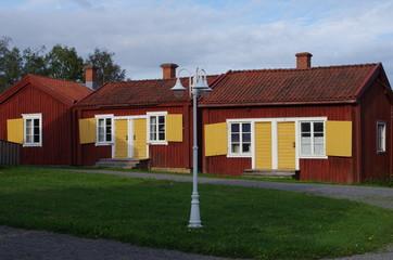 maison paroissiale en Suède