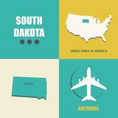 South Dakota flat