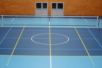 Sports hall volleyball