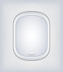 Window Airplane Vector