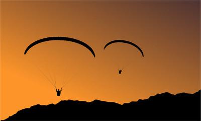 Fotomurales - paragliding gleitschirm