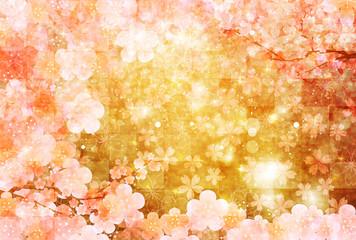 梅 桜 年賀状