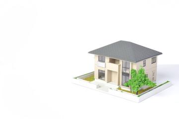 住宅模型のイメージ