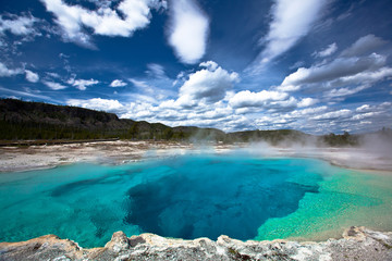 Photo sur Plexiglas Parc Naturel USA - Yellowstone NP