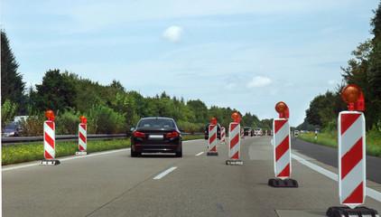 interstate scenery in germany