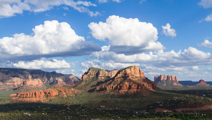 Wall Mural - Landscape of the valley near Sedona
