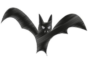 Halloween Bat Art