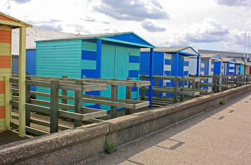 Beach homes at Tankerton