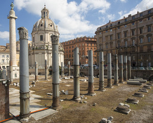 Ancient Roman Ruins - Colonnade