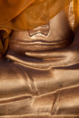 Finger of buddha statue
