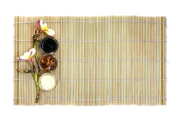 Japanese food empty dish
