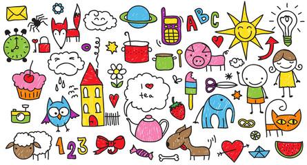 Children's doodle