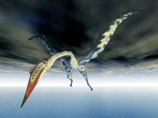 Pterosaur Quetzalcoatlus