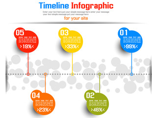TIMELINE INFOGRAPHIC NEW STYLE  6