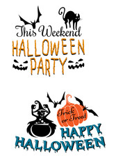 Halloweenscary banners