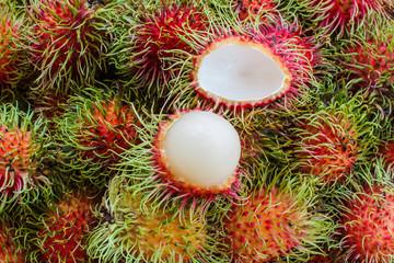 Rambutan fruit of Thailand