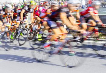 Foto op Textielframe Fietsen gara ciclistica
