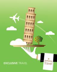 Exclusive Pisa, Italy, Travel, Typography