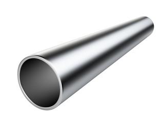 Metal pipe.