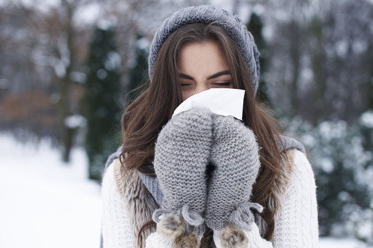 Illness in winter is very popular