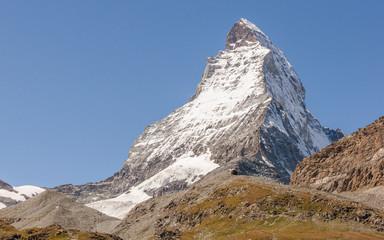 Zermatt, Bergdorf, Alpen, Bergpanorama, Trockener Steg, Schweiz
