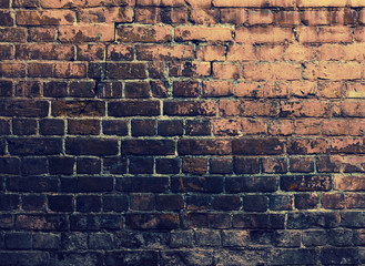 Grunge bricks wall Wall mural