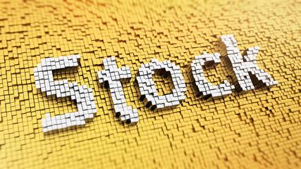 Pixelated Stock