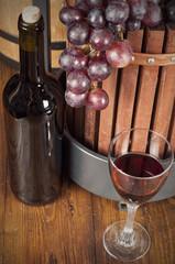 wine in basement