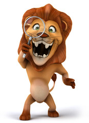 Fun lion