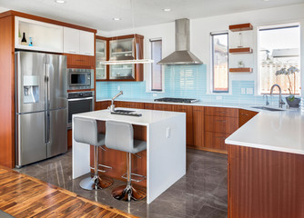 Beautiful Contemporary Kitchen in New Home