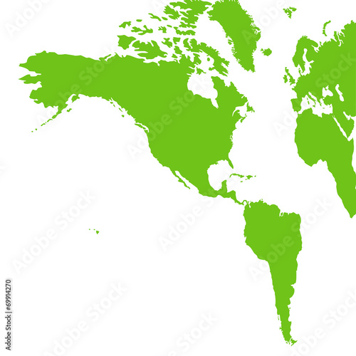 """南北アメリカ大陸"""" Stock photo ..."""