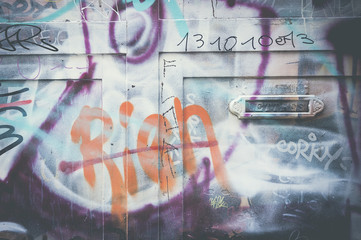 Graffiti RIEN