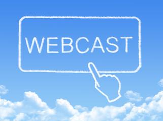 webcast message cloud shape