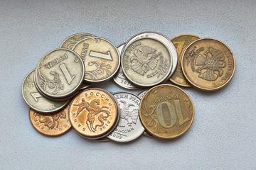 Small Russian money .