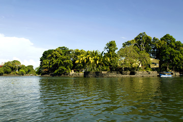 Lake Nicaragua the tenth largest fresh water lake in the world
