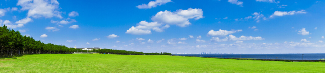 浦安市総合公園からの風景