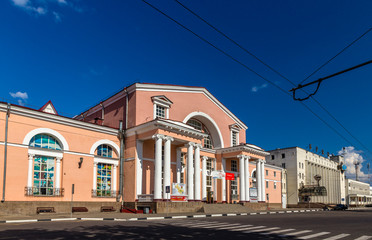 Bryansk - passenger railway station in Russia