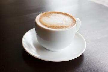 A Latte Coffee art