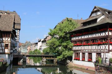 Petite France à Strasbourg (Alsace , France)