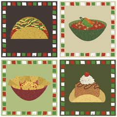 mexican food decorations
