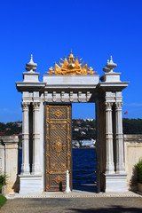 Gate to the Bosphorus, Dolmabahçe Palace - Istanbul
