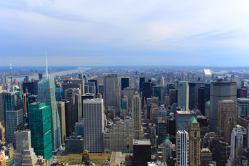 Manhattan Cityscape - New York City