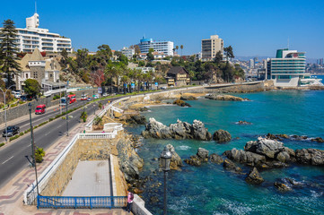 Seafront in Vina del Mar, Chile