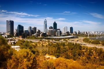 Perth. Cross processed color tone.