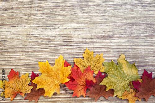 Листья осень ткань скачать
