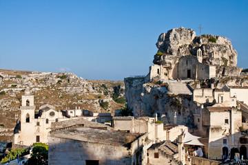 Matera, view with Santa Maria di Idris church