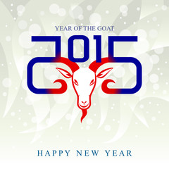 The year of goat (American theme)
