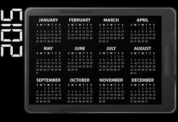 2015 electronic calendar