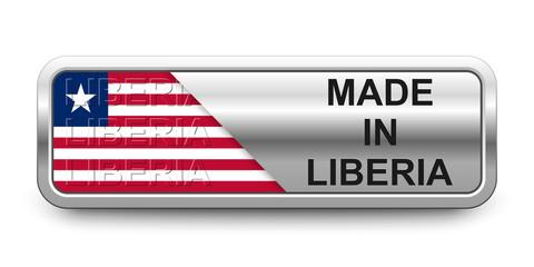 Made in Liberia Button